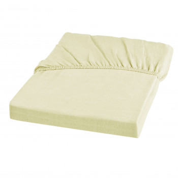 Wrinkle Washed Linen King Fitted Sheet