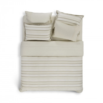 HANIM STRIPED BEDDING SET