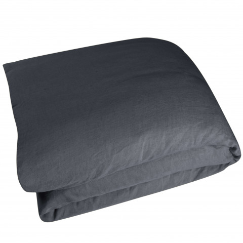 Wrinkle Washed Linen King Duvet Cover