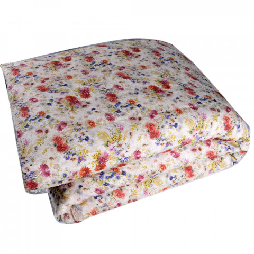 Breeze Printed Linen Duvet Cover