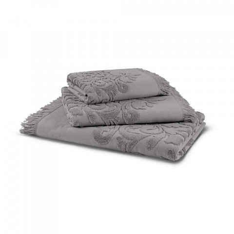PENNA SOLID JACQUARD TOWEL