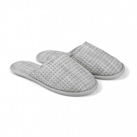 MARBLE WAFFLE SLIPPERS