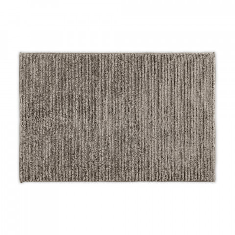 WAVY ORGANIC COTTON BATHMAT